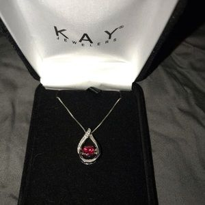 Kay's ruby necklace.